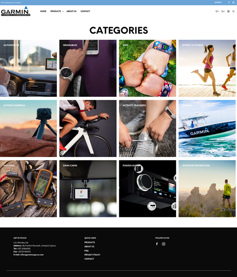 garmin-categories